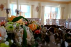 Drahthammer-Schlößl-Blumenarrangement