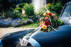 Hochzeit-Auto-Brunnen