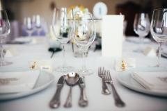 Hochzeit-Gedeck